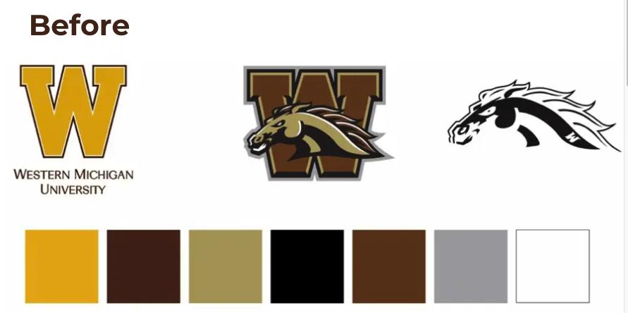 Western Michigan University Rebranding